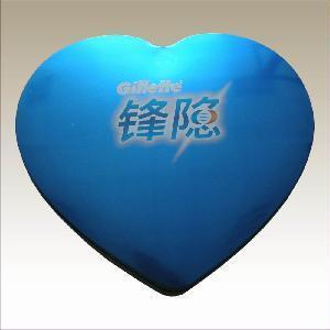 China Big Heart Shape Tin Box for Chocolate (JYH3K0001A) on sale
