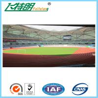 Quality Ventilated Recycling Jogging Track Material Outdoor Running Rubber Track For School / Stadium for sale