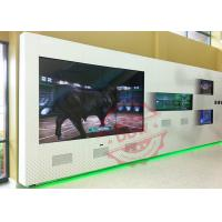 Buy cheap Embedded into wall interactive Digital Signage Totem , advertising kiosks display shockproof product