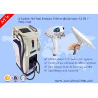 Q - Switch Multifunction Beauty Machine / Laser Hair Removal Machines For Salons