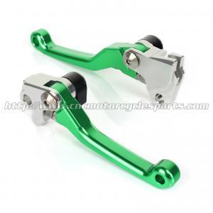 CNC Billet Motorcycle Brake Clutch Lever For KX 85 100 125 250 KX 250F 450F MX Parts