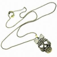Quality Skull Necklace, Available in Various Colors  for sale