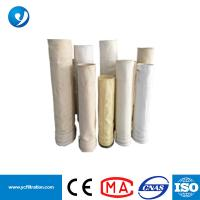 Quality 500GSM 1.8-1.9mm Thickness Nonwoven PTFE+Anti-static Acrylic Filter Bag for sale