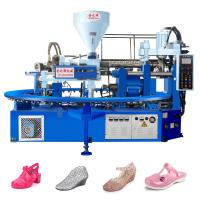 Quality jieyang jinzhihui horizontal pvc jelly/crystal shoe injection molding machine for sale