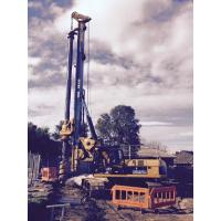 Quality Foundation Pile Drilling Hydraulic Piling Rig With Rotary Angle Displacement Output Mechanism KR150C for sale