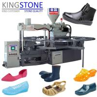 Quality Kingstone Machinery Rotary Plastic Shoes Injection Moulding Machine for sale
