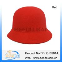 China Ladies fashion hats bowler cloche hats wholesale on sale