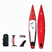Quality 381*66*15cm Racing Inflatable SUP for sale