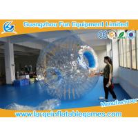 Buy cheap Transparent Inflatable Human Hamster Ball Body Zorb Ball For Adult / Small Kids product