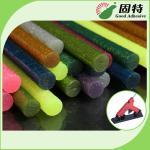 Quality EVA Colored Hot Melt Glue Stick Adhesive Stick Glue Gun For Arts And Crafts for sale