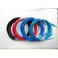 Quality Colorful Wire Rope Assembly , Wire Rope And Fittings Black /  Red / Blue Vinyl / PVC / PU / PA for sale