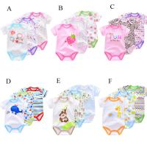 China Unisex Cute Newborn Baby Clothes Gift Set , 100% Cotton 3pcs Baby Onesie Sets on sale