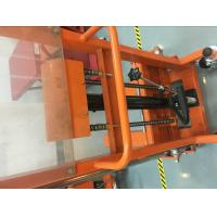 Quality Industrial Manual Hydraulic Stacker Structural Durability With Fixed Legs for sale