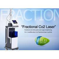 Quality 10600nm Co2 Fractional Laser Treatment Machine For Skin Resurfacing / Acne Scars for sale
