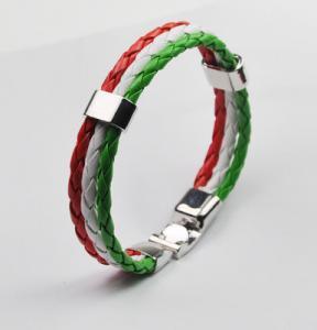 Quality 2018 RussiaWorld Cup football commemorative bracelet Bracelet Bracelets wholesale jewelry for sale