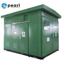 Quality Dual Voltage Prefabricated Substations 20 - 10 KV Europe Type Artistic Appearance for sale