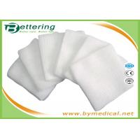 Quality Healthy Wound Care Sterile Gauze Swabs , Medical Dressing Pads 100% Cotton for sale