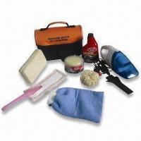 Quality Car Cleaning Kit with 12V Vacuum and 180g Gloss Paste Solid Wax for sale
