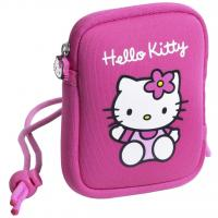 China 12x 9cm Pink HELLO KITTY Neoprene Soft Camera cover Case bag With Wrist Strap on sale