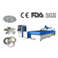 Quality CE Certified Sheet Metal Cnc Laser Cutting Machine / Metal Laser Cutter for sale