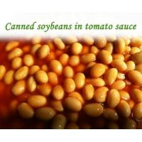 Quality Canned Soybean in Tomato Sauce 400G*24tins for sale