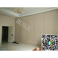Quality MDF + Aluminum Operable Acoustic Movable Office Partition / Wooden Folding Doors for sale