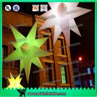Quality 1.5m Color customized Event Hanging Decoration Inflatable Star for sale