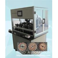 Quality Four station ventilator coil winder ceiling fan winding machine with servo system WIND-CFW for sale