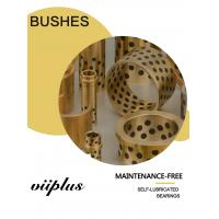 Quality Wear Resistance Graphite Plugged Bronze Bearings Thrust Wheel Bushings for sale