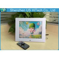 China Multifunction SD / MMC / MS 8 Inch Digital Photo Frame With Remote Controller on sale