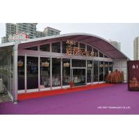 Quality Exhibition Outdoor Event Tents UV Resistant Aluminum Structure for sale