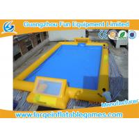 Buy cheap Customized 24m X 18m Inflatable Football Field / Soccer Area For Bubble Bumper Ball product