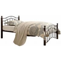 Warm Kids Bedroom Furniture Metal Frame Bed And Mattress Twin Size Platform Bed