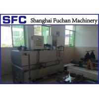SS 304 Sludge Flocculation Preparation Unit , Polymer Preparation System