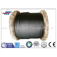 Steel Cable Wire Rope Oil Surface Non Rotating Wire Rope Construction