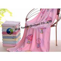 China Mushroom Patterned Microfiber Fabric Quick Dry Beach Towels for Bathroom on sale