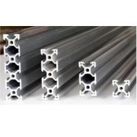Quality Silvery Anodized Aluminum Extrusion Profiles For Production Line , T Slot Aluminum Profile for sale