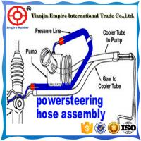 Quality OIL RESISTANT STEEL WIRE REINFORCED BEST SELLER  AUTO POWER STEERING HOSE for sale