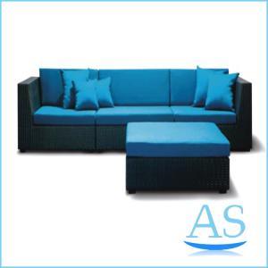 China cheap rattan garden sofas outdoor furniture china used patio furniture garden sofa SR26 on sale