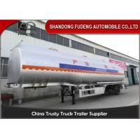 Quality Cabon steel material Fuel Tank Semi Trailer 3 axles 6 cabins for sale