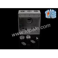 Buy Electrical Boxes For Branch Circuit Wiring Aluminum Die Cast Weatherproof Box / Two Gang Electrical Outlet Box at wholesale prices