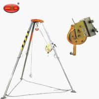 Quality Mini Rescue tripod with Automatic brake device and Electric winch for sale