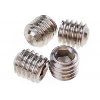China M5 x 10mm Stainless Steel Grub Screws Hexagonal Socket Cup Point DIN 916 on sale
