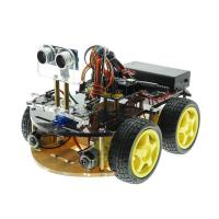 Quality Nano V3.0  Intelligent Bluetooth Tracking/Obstacle Avoidance  Smart Car Robot for sale