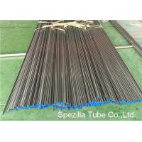 Buy cheap ASME SA249 Annealed And Pickled Stainless Steel Tube Welding W.T. 0.035'' - 0.120'' product