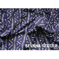 Buy cheap High Stretch Recovery Recycled Swimwear Fabric U Trust Verification Digital from wholesalers