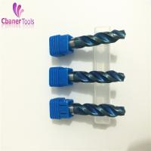 Quality High quality Blue Nano Coating Carbide step drill bits for sale