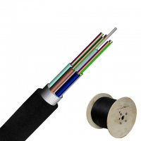 Quality 6 Core G652D Anti Rodent GYTA Fiber Optic Cable  Long Distance Telecommunication for sale
