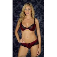Buy cheap Customized Sheer Plus Size Health Embroidered Matching Bra And Underwear Sets For Women product