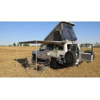 Quality Off Road Hard Shell Roof Top Tent Side Open ABS Shell Material For 3-4 Person for sale